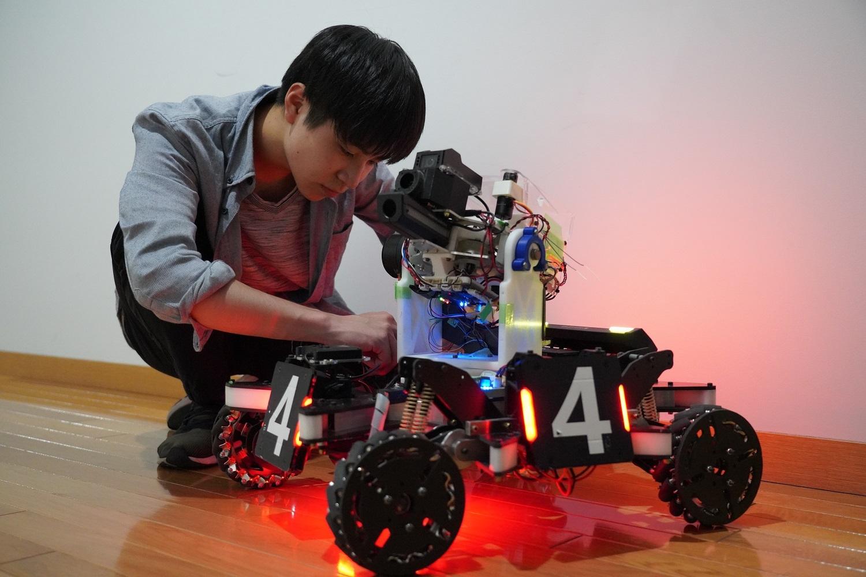 ロボット分解組立講座イメージ